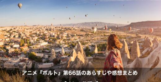 ボルト アニメ 第66話 あらすじ 感想