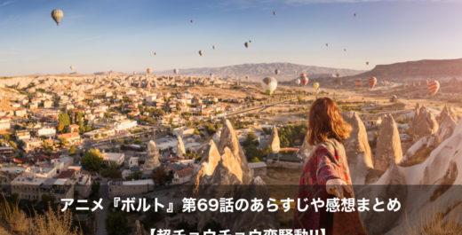 ボルト アニメ 第69話 あらすじ 感想