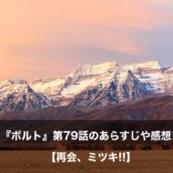 ボルト アニメ 第79話 あらすじ 感想